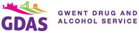 Logo GDAS Gwasanaeth Cyffuriau ac Alcohol Gwent