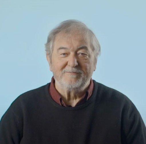 Photo of an elderly man Dr Neil Frude