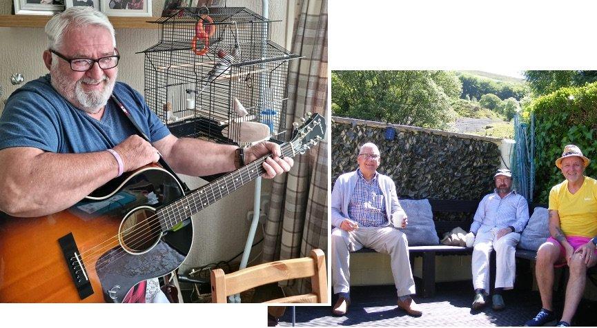 Men's Den Blaenau Gwent Group and Jim-Morgan